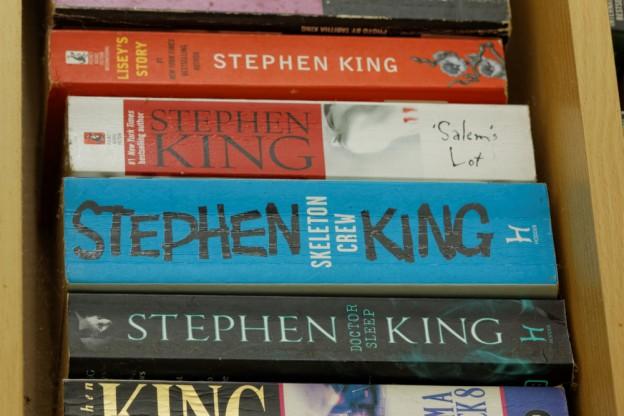 varios libros de stepehn king