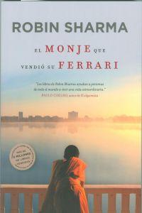 """Portada del libro """"El monje que vendió su Ferrari"""""""