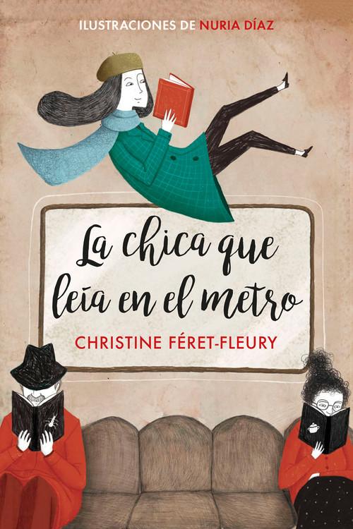 """Portada del libro """"La chica que leía en el metro"""""""